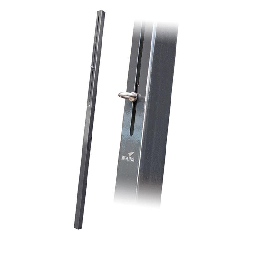 Nesling Paal met flex oog 7x7x250cm