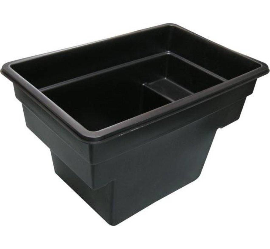 Quadra C1, inhoud 520 liter 78x118x70cm