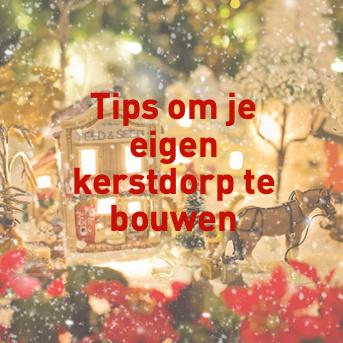 kersthuisjes - tips