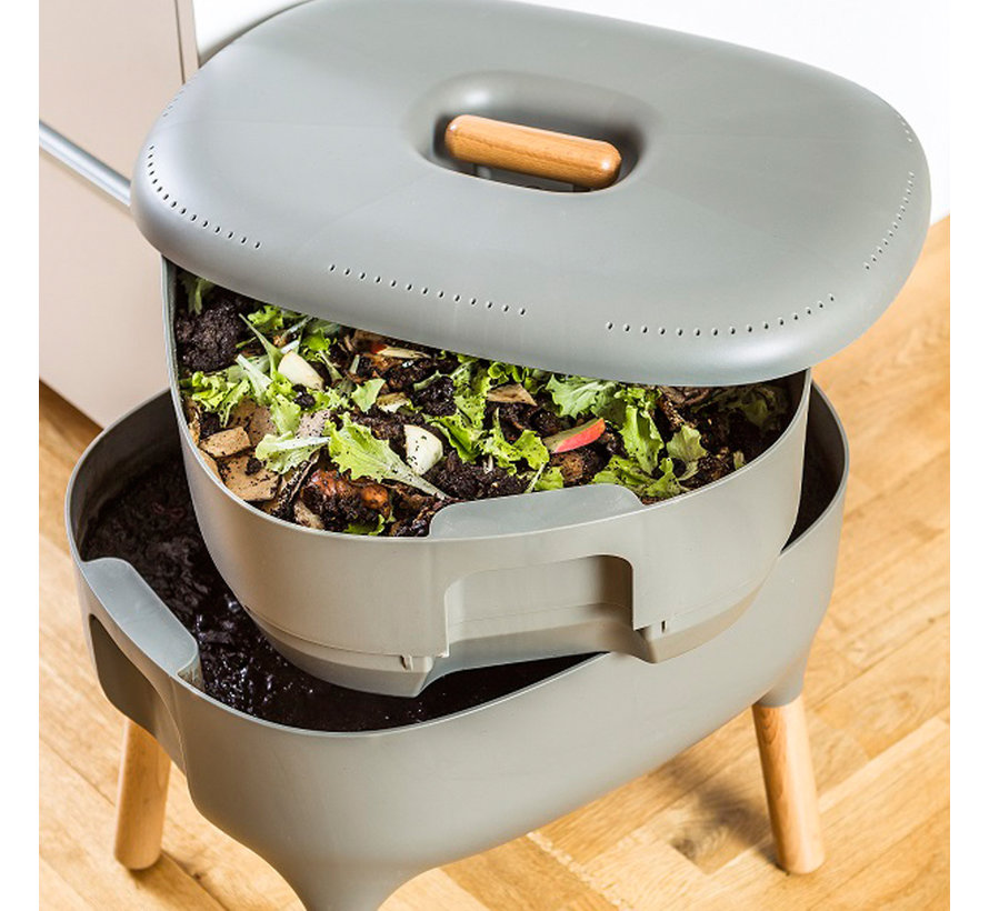 Worm Composter Antraciet