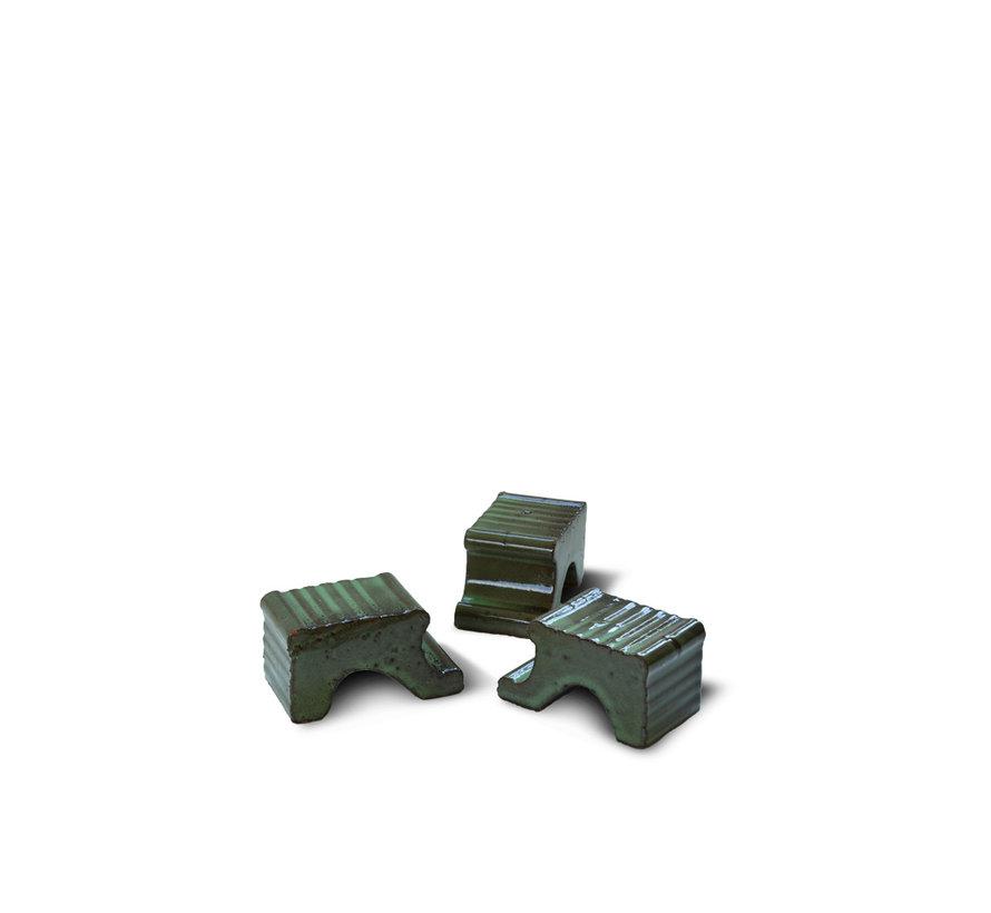 Vogelbad Echo groen