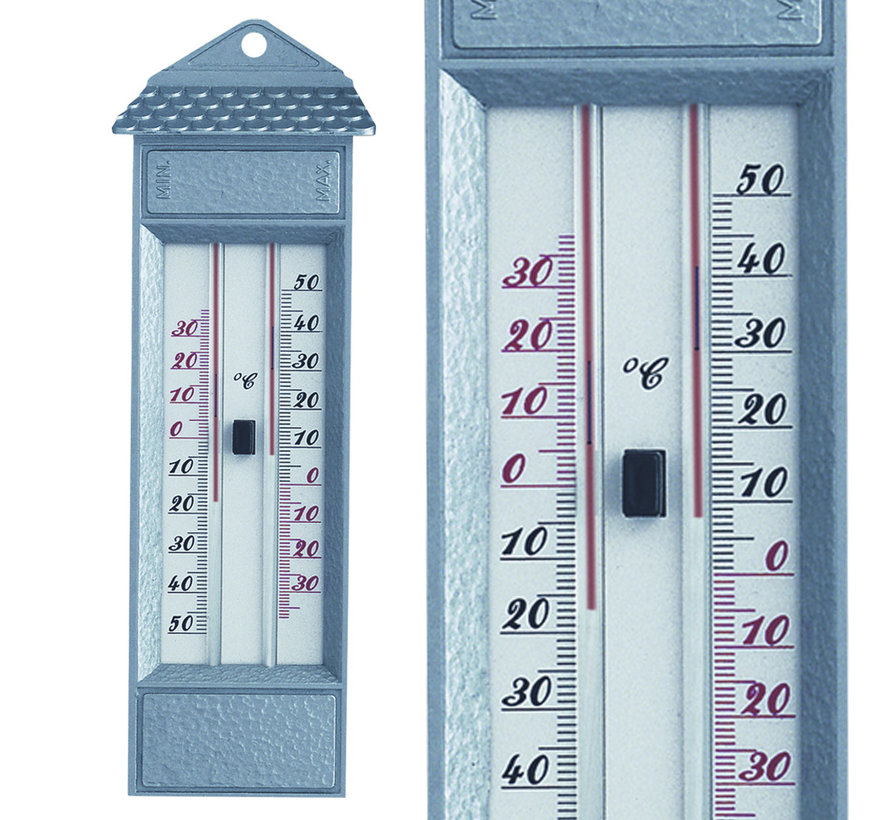 Thermometer max-min kwikvrij