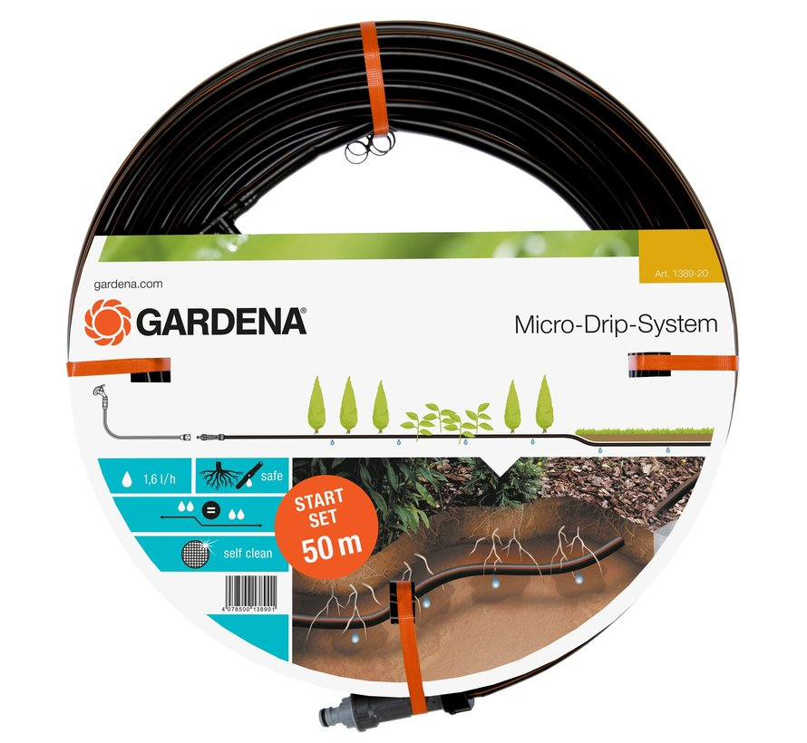Gardena MDS druppelbuis 50m set