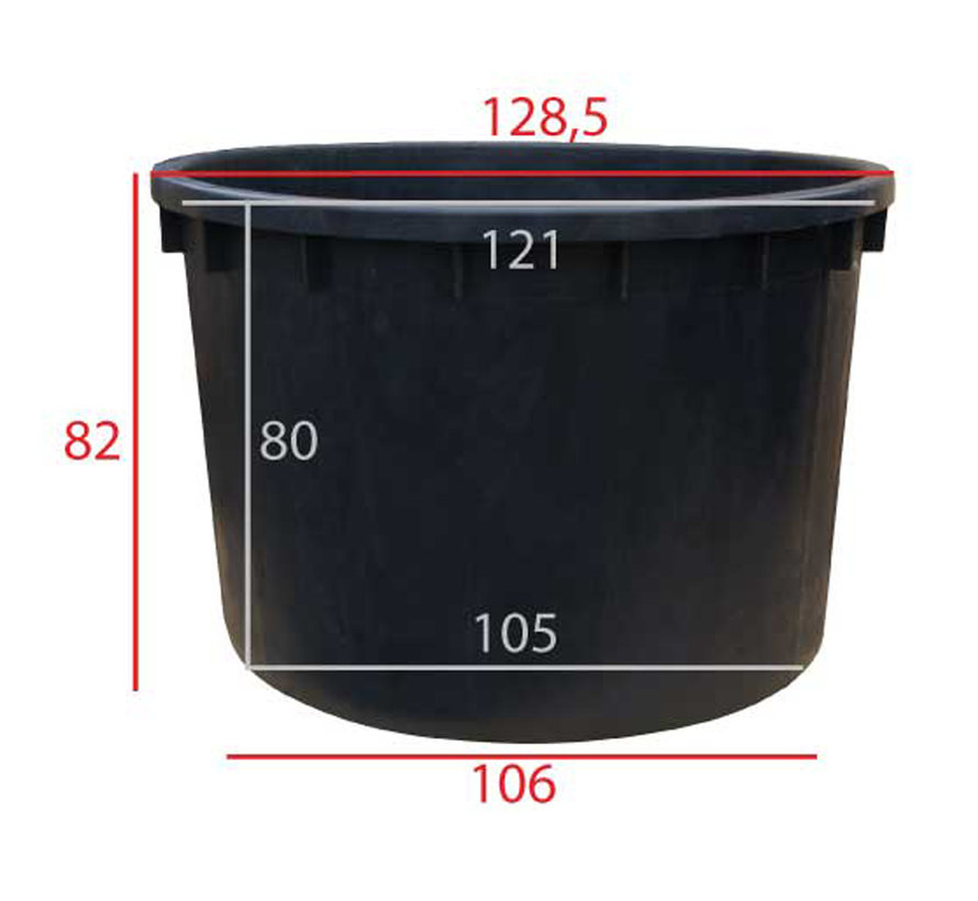 Boomkuip 750 liter ø 122 x h.82 cm