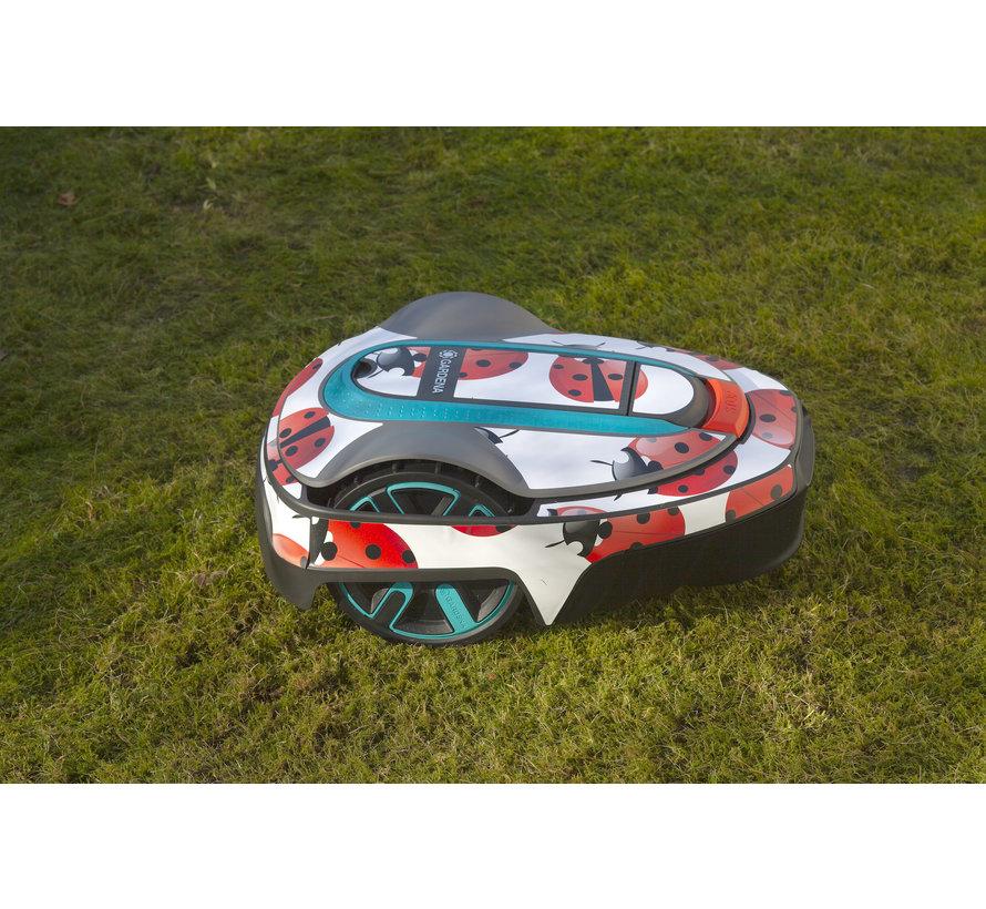Twinckels outfit voor Gardena Robotmaaier Sileno - Lieveheersbeestje