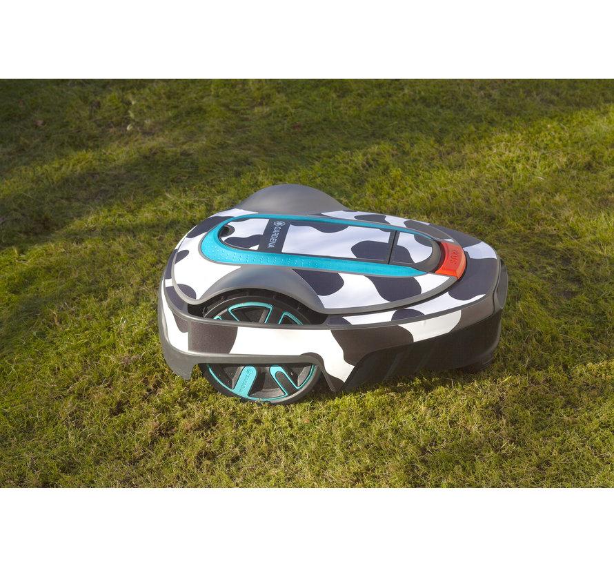 Twinckels outfit voor Gardena Robotmaaier Sileno - Koe
