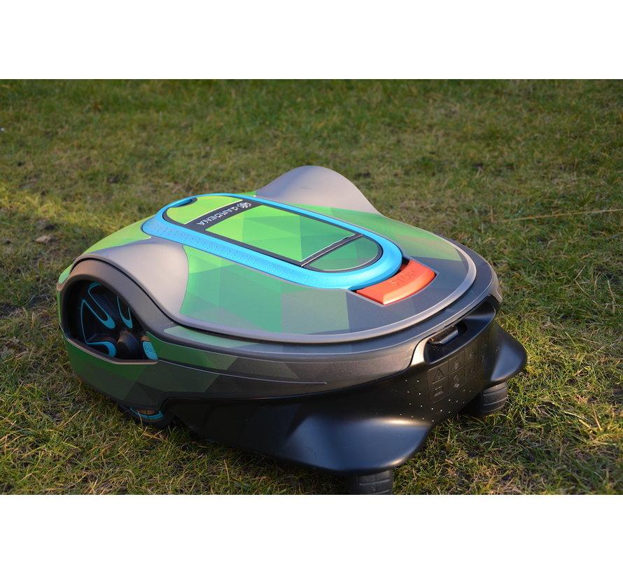 Twinckels outfit voor Gardena Robotmaaier Sileno - Geo Groen