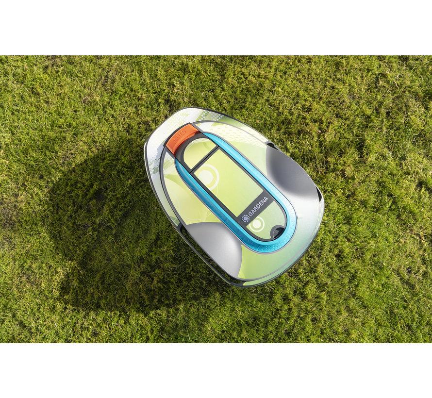Twinckels outfit voor Gardena Robotmaaier Sileno - Geo Groen 2