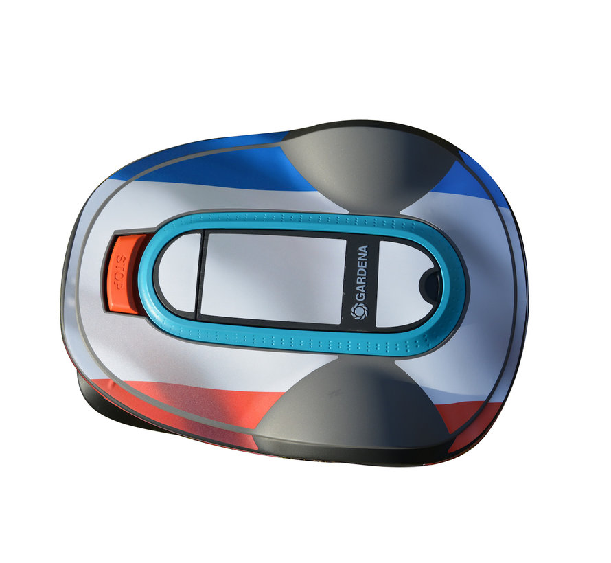 Twinckels Outfit for the Gardena Robotic Lawnmower - French Flag