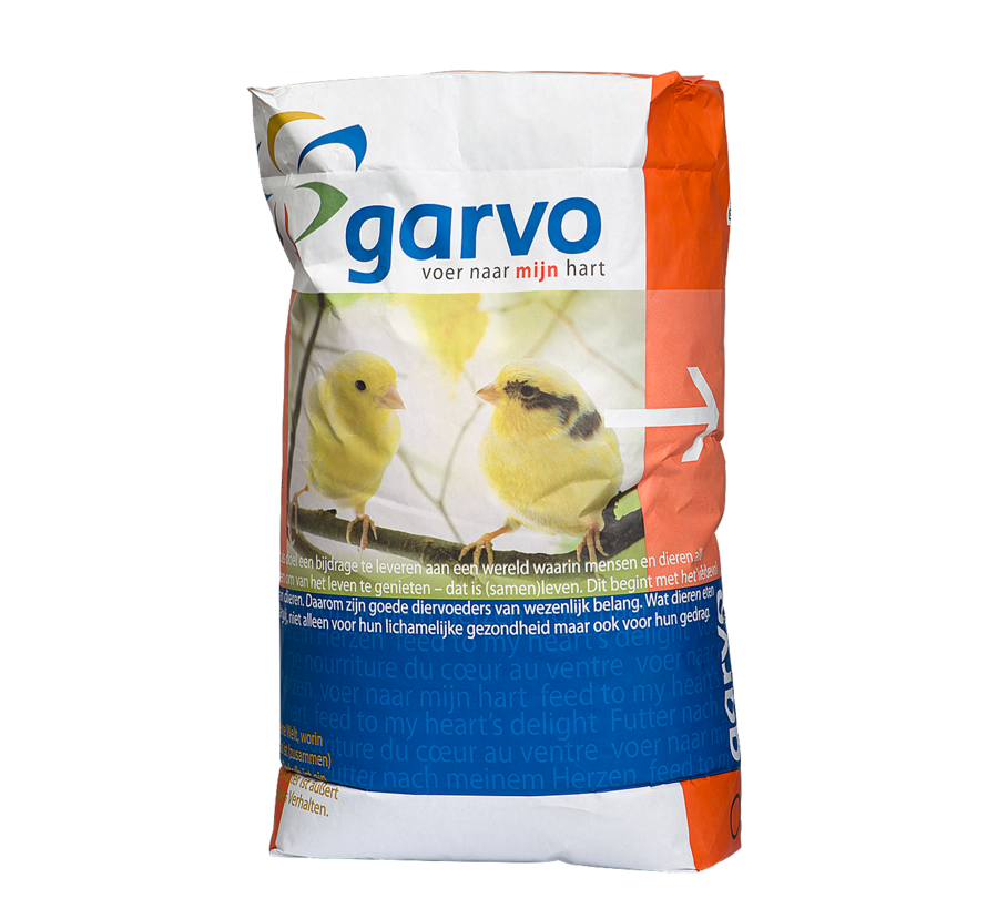 Garvo Kanarie Pk (Postuur En Kleur) 20 KG
