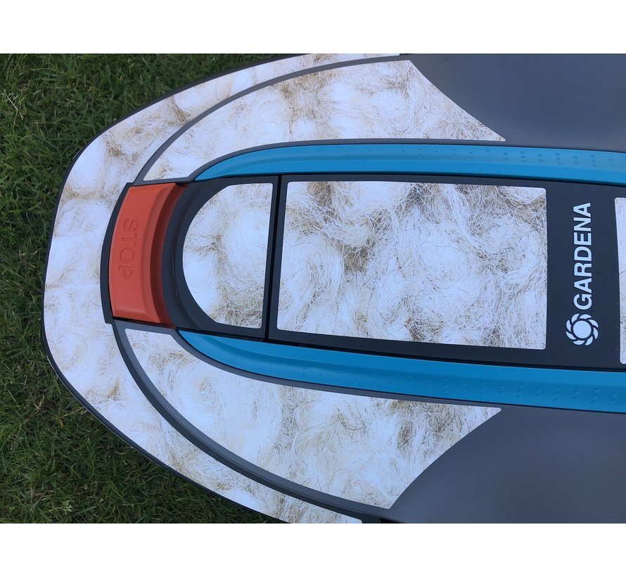 Twinckels Outfit for the Gardena Robotic Lawnmower - German Flag - Copy