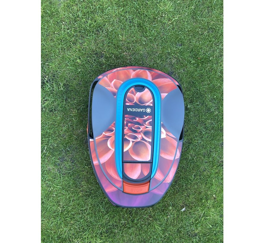 Twinckels Outfit for the Gardena Robotic Lawnmower - Dahlia