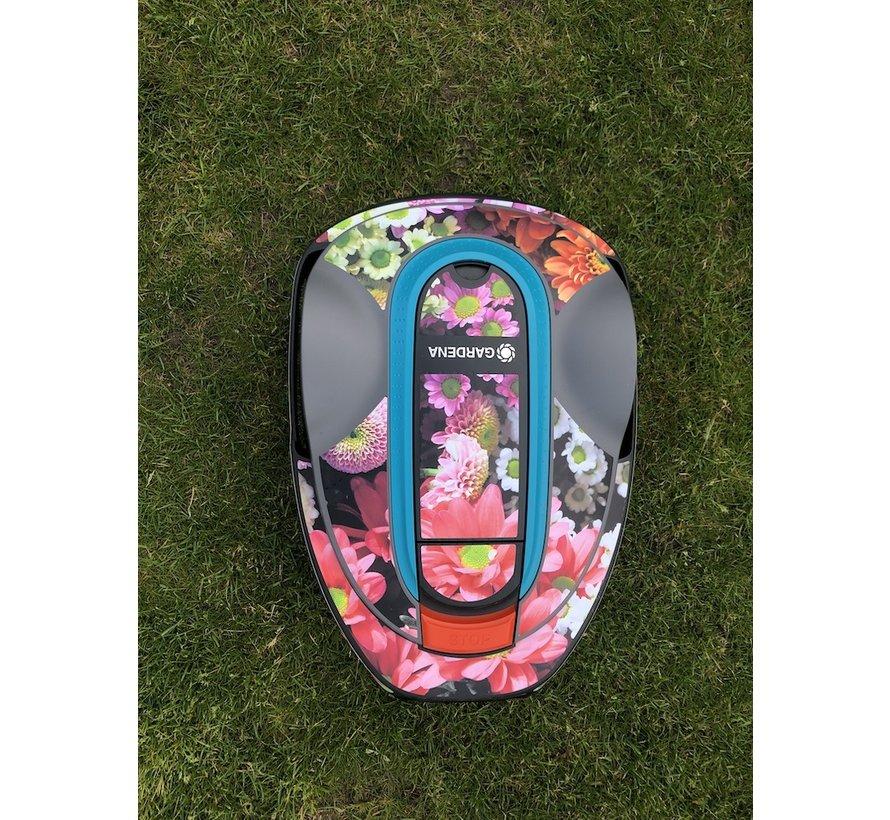 Twinckels outfit voor Gardena Robotmaaier Sileno - Bloemen