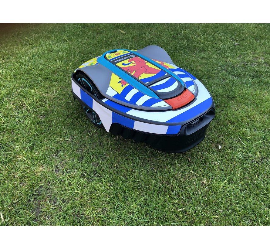 Twinckels Outfit for the Gardena Robotic Lawnmower - Zeelandic Flag