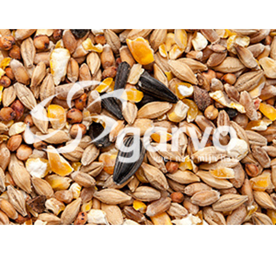 Garvo Gem. Graan + Gebr. Mais + Zonnepit 20 KG