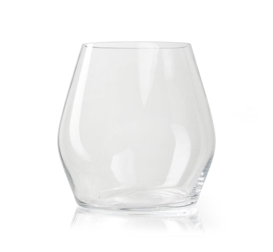 Glazen vaas 'George' H25 D25 cm Transparant