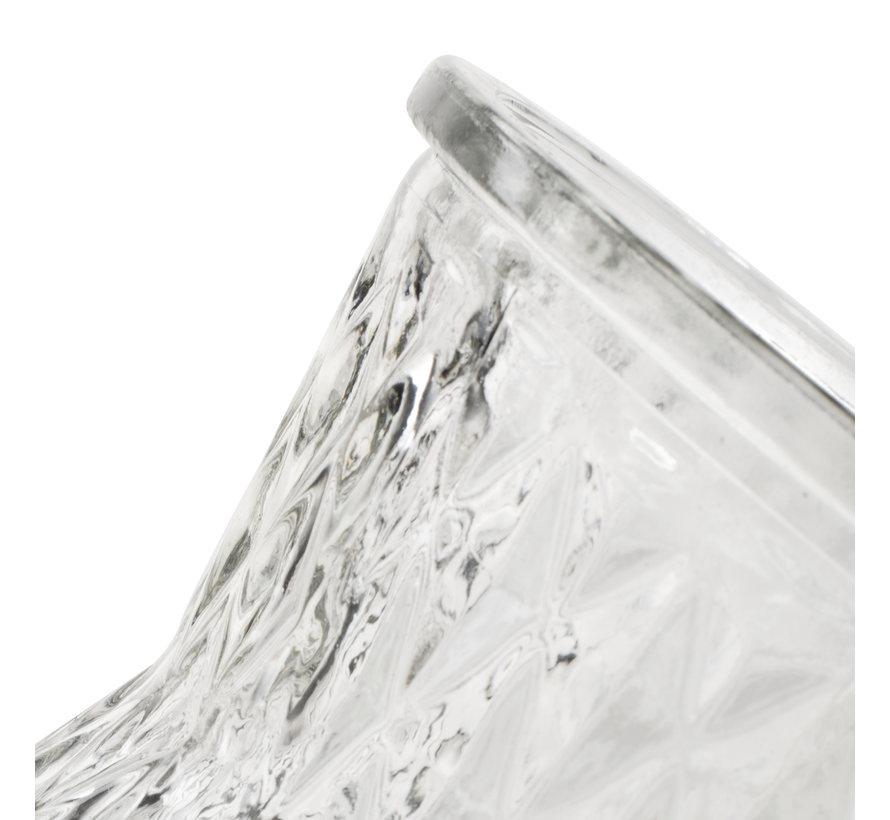 Glazen vaas 'Fabian' H25 D13,5 cm Transparant