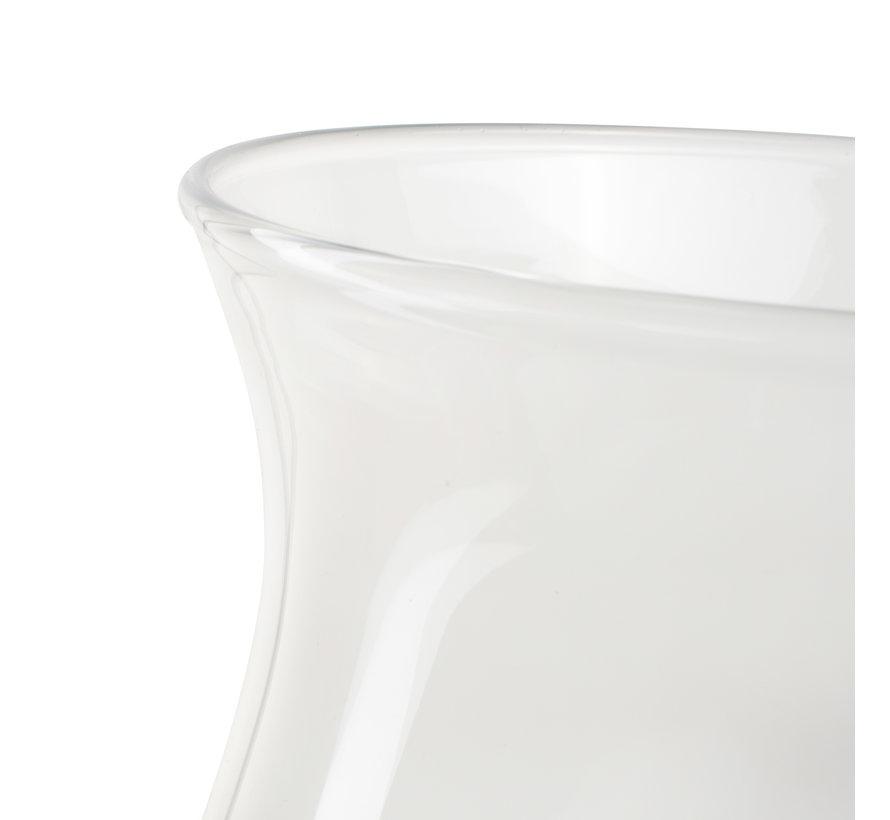 Glazen vaas 'Gina' H30 D15 cm Transparant