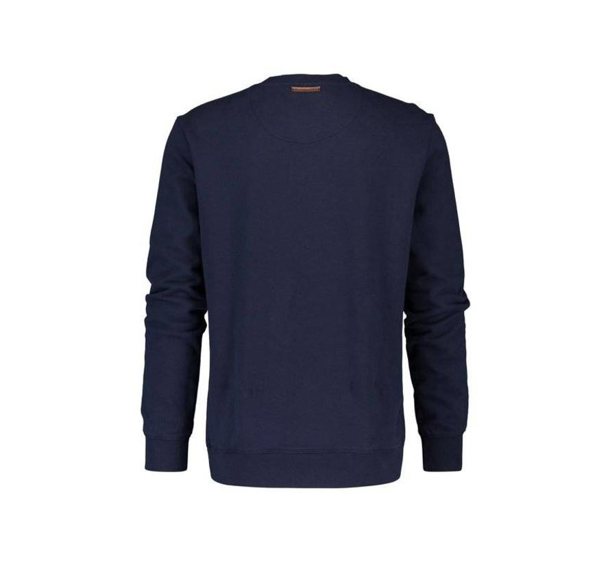 sweater Rubber Coordinates Navy (83.505)