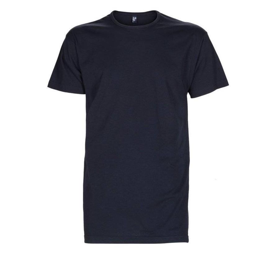 Ronde Hals T-shirt Derby 1-pack Navy (6672SP)