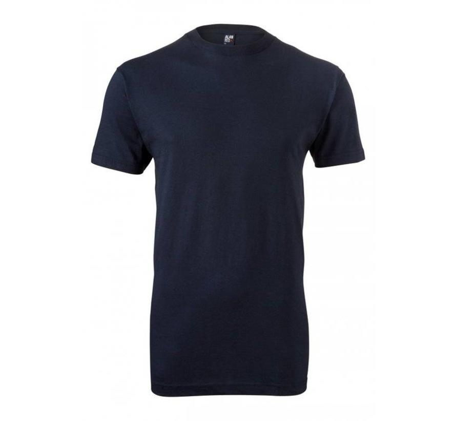 t-shirt Virginia 1-pack navy ronde hals (3129SP)