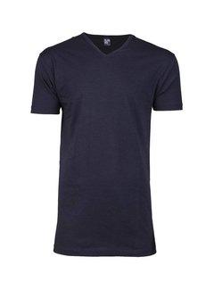 Alan Red V-hals T-shirt Vermont 1-pack Navy (6671SP)