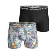 Bjorn Borg boxershort 2pack Multicolor (1811-1010-70711)