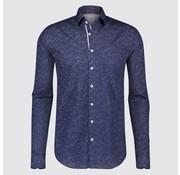 Blue Industry overhemd print blauw (1065 - 82)
