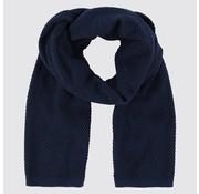 Blue Industry sjaal blauw (KBIW18 - M46)