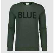 Blue Industry sweater Groen (KBIW18 - M34)