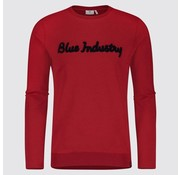 Blue Industry sweater Rood (KBIW18 - M32)