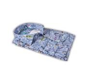 British Indigo overhemd print blauw (7.81.048.012 - 60)