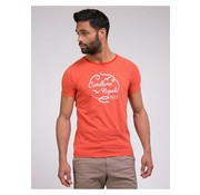 Cavallaro Napoli t-shirt Lavato rood (1781005 - 36000)