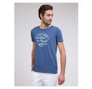 Cavallaro Napoli t-shirt Lavato blauw (1781005 - 60000)