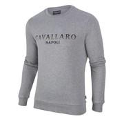 Cavallaro Napoli sweater Mirko Grijs (2085004 - 82000)