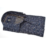 Culture overhemd modern fit print Navy (513714 - 37)