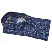 Culture overhemd modern fit print Navy (513772 - 38)