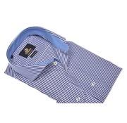 Culture overhemd modern fit streep blauw (991019 - 38)