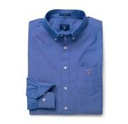 Gant overhemd regular fit streep Blauw  (3046600 - 436)