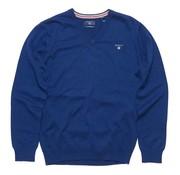 Gant pullover kobalt blauw (83102 - 482)