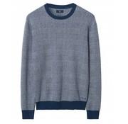 Gant sweater regular fit print blauw (8050002 - 487)