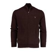 Gant vest regular fit Rood (83104 - 678)
