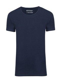 Garage T-shirt 1-Pack Body Fit Diepe Ronde Hals Navy (0205N)