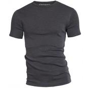 Garage T-shirt 1-Pack Semi Body Fit Ronde Hals Antra Grijs Mel. (0301)