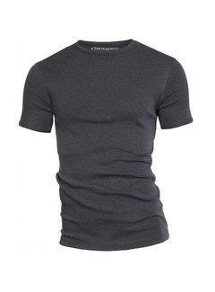 Garage T-shirt 1-Pack Semi Body Fit Ronde Hals Antra Grijs Mel. (0301)