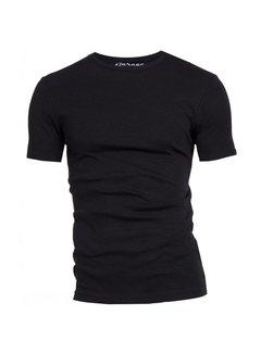 Garage t-shirt 1pack semi body fit ronde hals zwart (0301N)