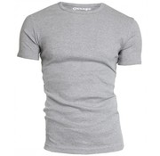 Garage t-shirt 1pack semi body fit ronde hals grijs mel. (0301N)