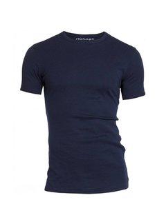 Garage T-shirt 1-pack Semi Body Fit Ronde Hals Navy (0301N)