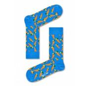 Happy Socks 1pack sokken Carrot Blauw  (CAR01-6000)