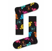 Happy Socks 1pack sokken Dog zwart (DOG01-9001)